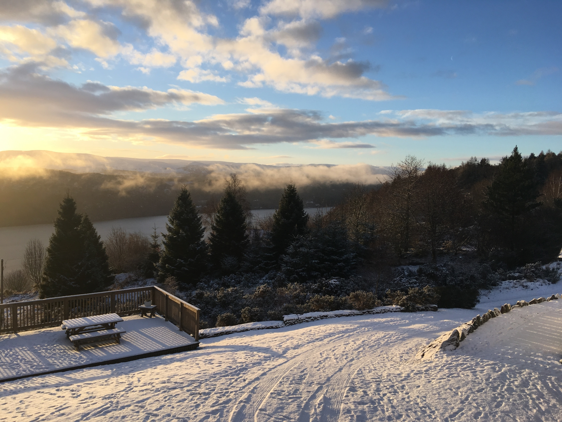 Drovers Lodge - Winter View
