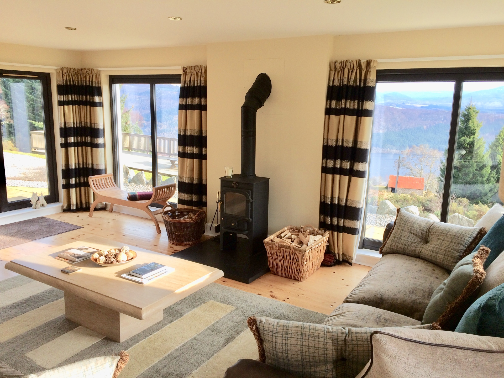 Drovers Lodge - Guest Sitting Room View